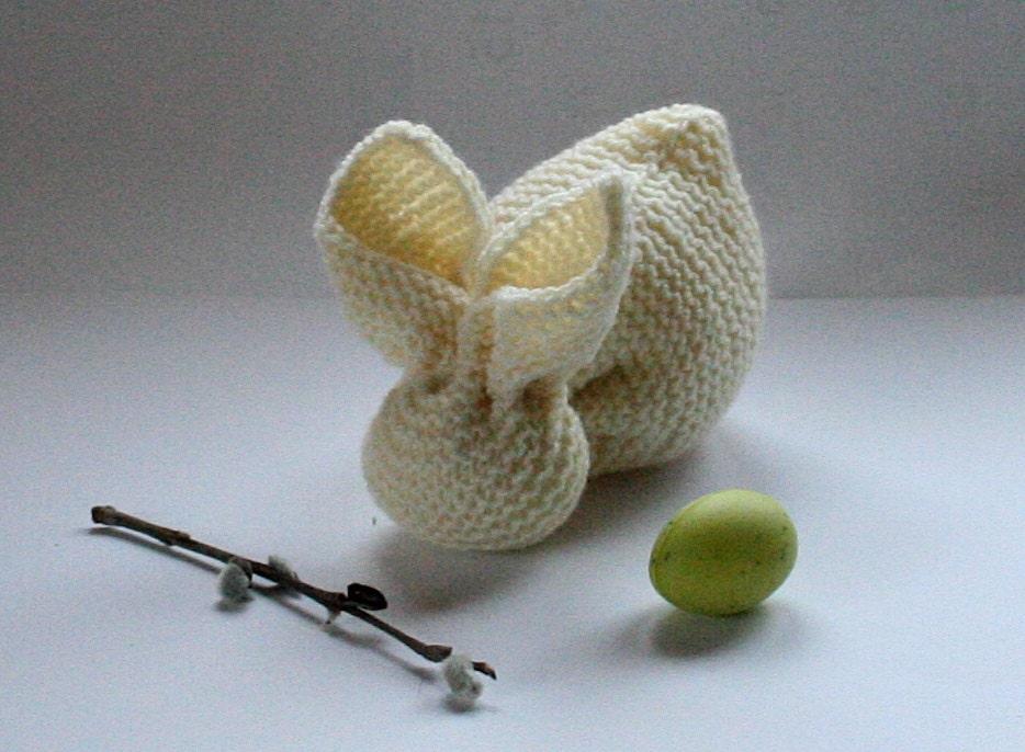Very easy knitting pattern bunny rabbit pattern by sosoftboytique
