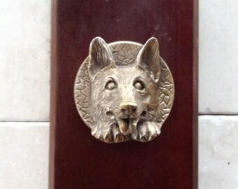 Brass sheppard door knob