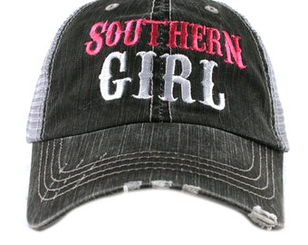 Southern Girl Western Trucker Hat - IAD-TC-SG_HPK