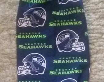Seahawk Print Plastic Bag Holders.