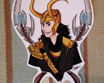 Loki Sticker
