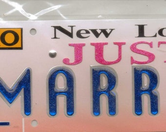 A Touch of Jolee's JUST MARRIED Title Waves Dimensional Stickers
