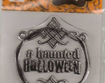 Studio G A HAUNTED HALLOWEEN Clear Stamps