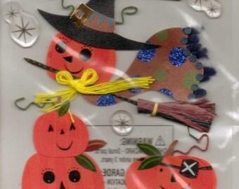 Ek Success Jolee's Boutique PUMPKINS Dimensional Stickers