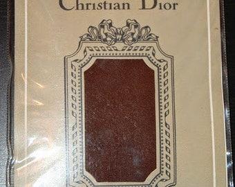 Real Vintage le bas Christian Dior Brown Collant