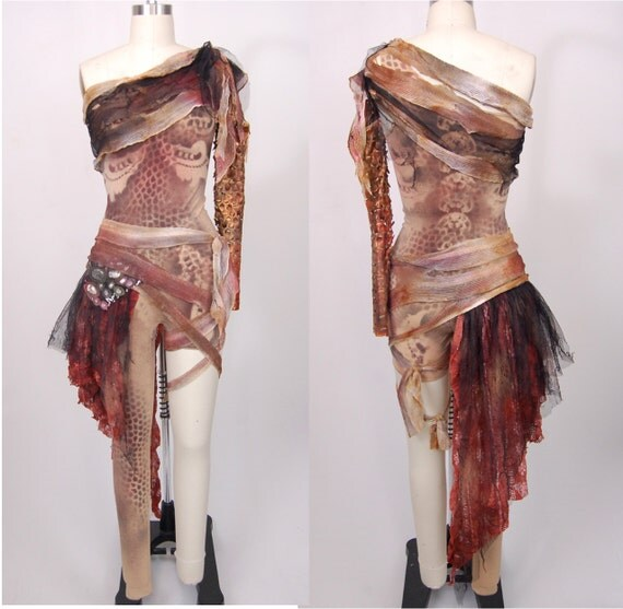 Items similar to Made to order aerial costume / custom ...