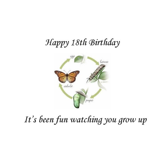 Happy 18th Birthday 18th Birthday Gift 18th Birthday By