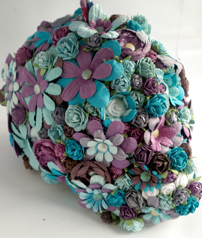 Sugar Skull-Flower Sugar Skull Decoration-Hanging Skull Flower