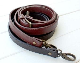 1 PCS, Adjustable PU Leather / Faux Leather Single Shoulder Bag Purse Handle Strap