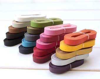 1.2cm * 120cm / 0.47 inch * 47.2 inch PU Leather Strap, 20 Colors Available