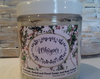 Lavender and Vanilla Bath Salts or Lavender and Peppermint Bath Salts
