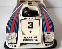 Vintage 1970s Martini Porsche 936 Turbo remote control car not working