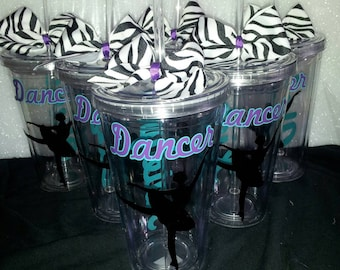 10 Dance Personalized Tumbler - Ballet Tumble - Ballet Gift - Dancer Gift