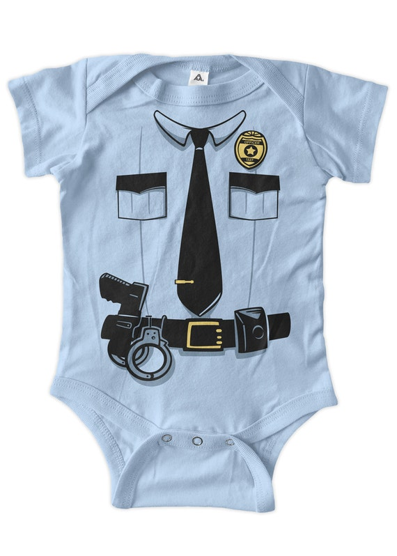 Halloween costume police officer cop sheriff costume baby baby