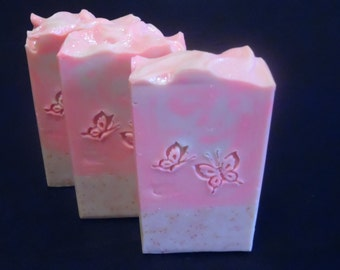 Cherry Blossom Soap, Japanese Cherry Blossom Soap, Holiday Gift Idea For Her, Natural Soap, Handcrafted Soap, Birthday Gift Idea