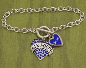Custom Loved One Air Force Bracelet - USAF54128