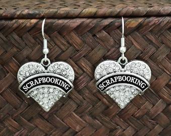 Scrapbooking Earrings