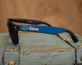 Florida Gators Black Wayfarer Sunglasses