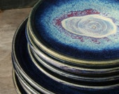 Pottery Plates- ceramic tableware for salad and dinner