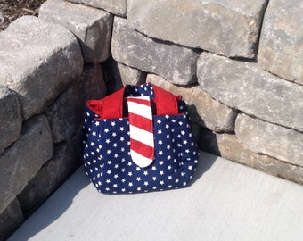 Patriotic Tulip Purse