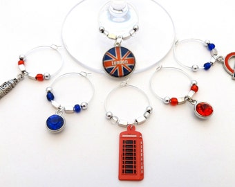 London Calling! Wine Charms