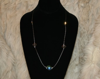 Crystal Floating Necklace