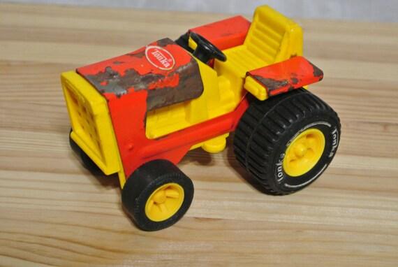 Vintage Tonka Tractors : Vintage tonka farm tractor by purplesquirrelsnest on etsy