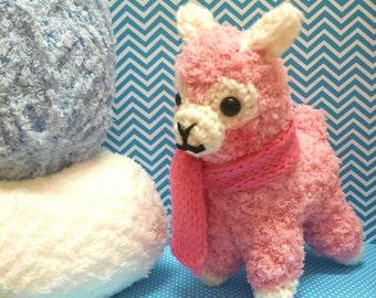 """Amigurumi """"Alpacasso"""" Alpaca~ *Made to Order*"""