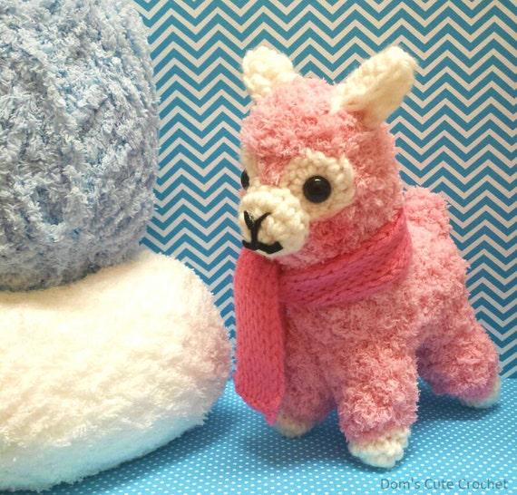 Amigurumi Alpaca : Amigurumi Alpacasso Alpaca Made to Order