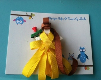 Belle (Beauty and the Beast) Sculpture Hair Clip