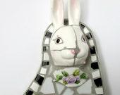 Broken China Mosaic Bunny 3D
