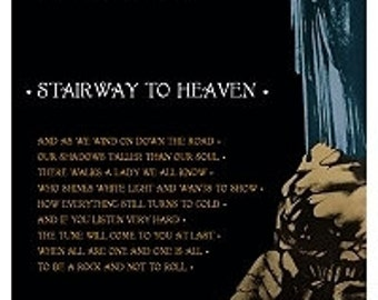 Led Zeppelin Stairway To Heaven Poster 24 x 36