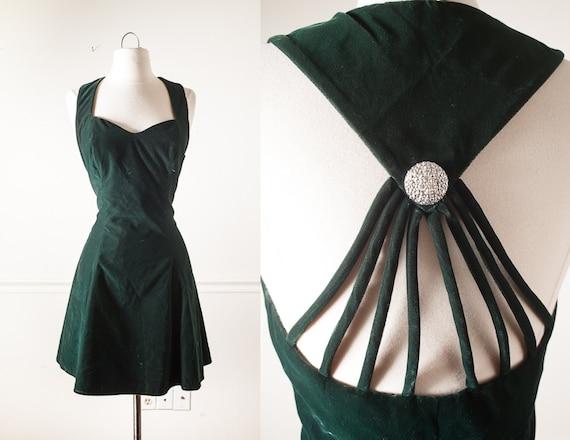Vintage 90s Prom Dress Grunge Prom Mini Dress 90s Dress