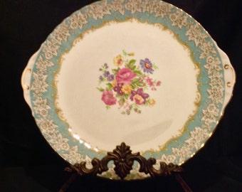 "Royal Albert ""Enchantment""  12"" Cake Plate or Serving Platter"