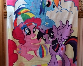 MLP My Little Pony Fun & Sun Beach Towel Personalized Beach Towel