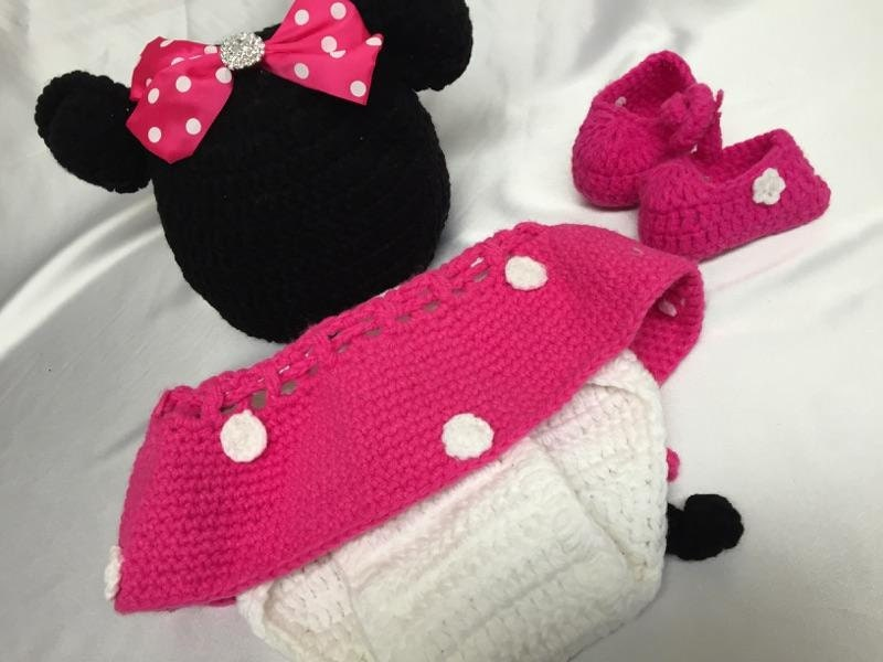 Minnie Mouse Knitting Pattern Eksposa For