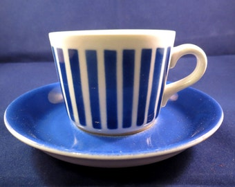 Arabia of Finland Malli AA, Kaj Franck coffee cup and saucer