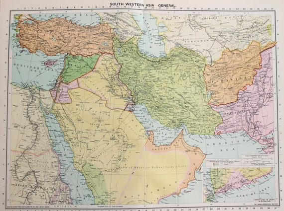 the british middle east policy in the late 1930s The history of british and french rule in the middle east makes the empire during the late 19th century in 1915 british office' policy of.