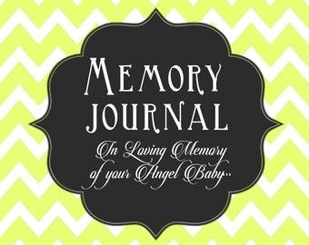 Infant Loss Memory Book, Baby Book, Memory Journal