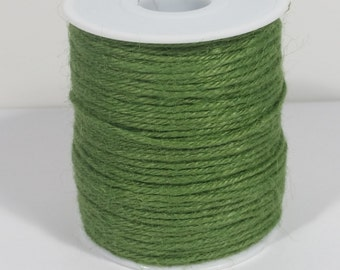 4 Ply Jute Cord  - Moss - 100 Yards