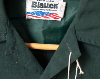 "Vintage Blaur ranger style shirt - green - 42""-44"" chest"