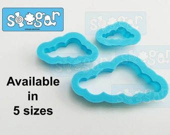 Cloud 103 cookie and fondant cutter