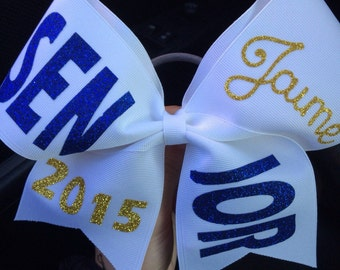 Senior Cheer Bow