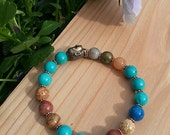 Buddha Mala Bracelet, Yoga bracelet, Jewelry for Her, Great Gift; MB- 27