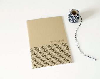 Notebook / Diary / Journal / kraft paper