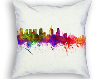 Philadelphia Pennsylvania Throw Pillow, 18x18, Cushion Home Decor, Gift Idea, Pillow Case 02