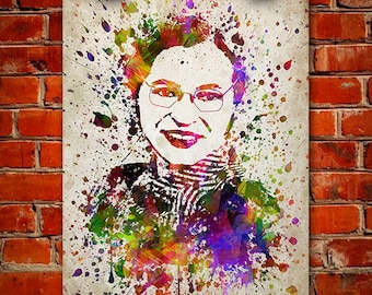 Rosa Parks In Color Poster, Home Decor, Gift Idea