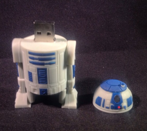 star wars 64gb usb flash drive r2d2. Black Bedroom Furniture Sets. Home Design Ideas