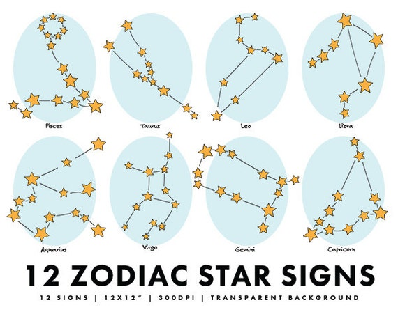 Constellations Zodiac Signs As Stars | 2017 - 2018 Best ...