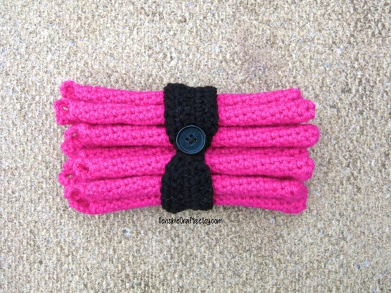Crochet Hair Rollers : HAIR CROLERS *New Look* // Crocheted Curlers // Heatless Hair Curlers